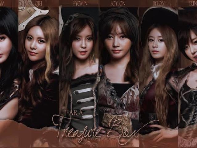Qual das 6 integrantes de T-Ara te representa?
