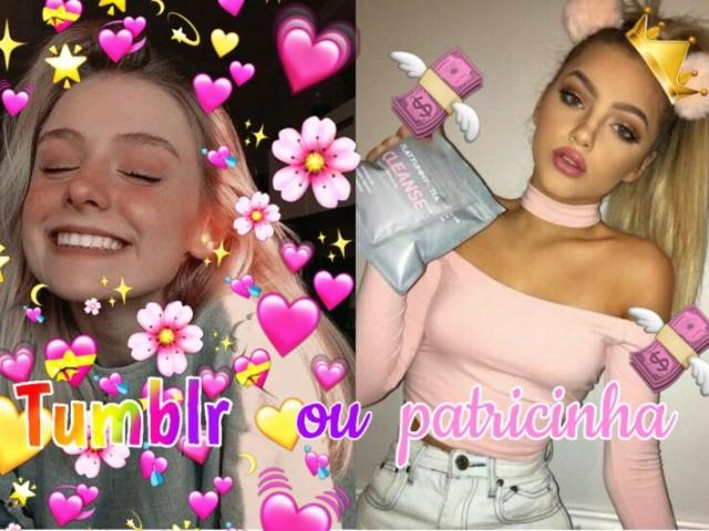 Você é mais tumblr ou patricinha?