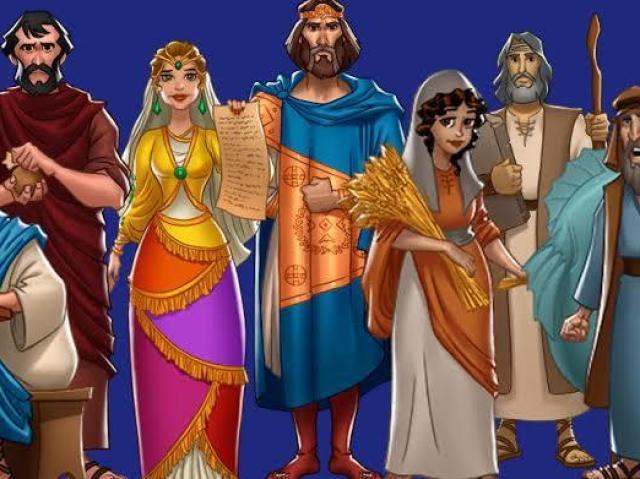 Qual personagem famoso da bíblia você seria?