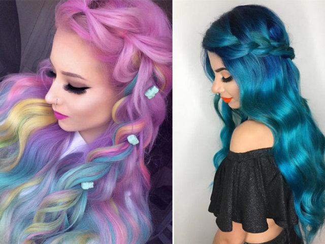 Qual seria o seu cabelo colorido ideal? 😊😃