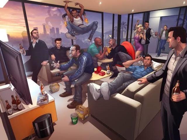 Quais protagonistas dos GTA'S você seria?