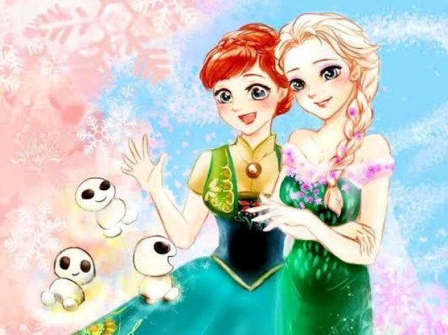 Anna ou Elsa - Com quem você mais se parece?