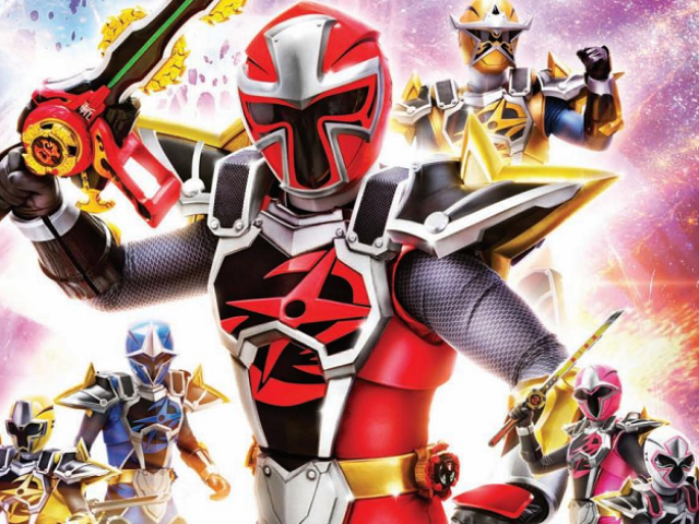 Quem você seria em Power Rangers Ninja Steel?