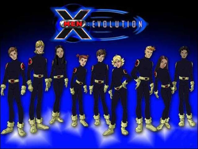 Quem sou dos Novos Mutantes em X-Men Evolution Grupo 1?
