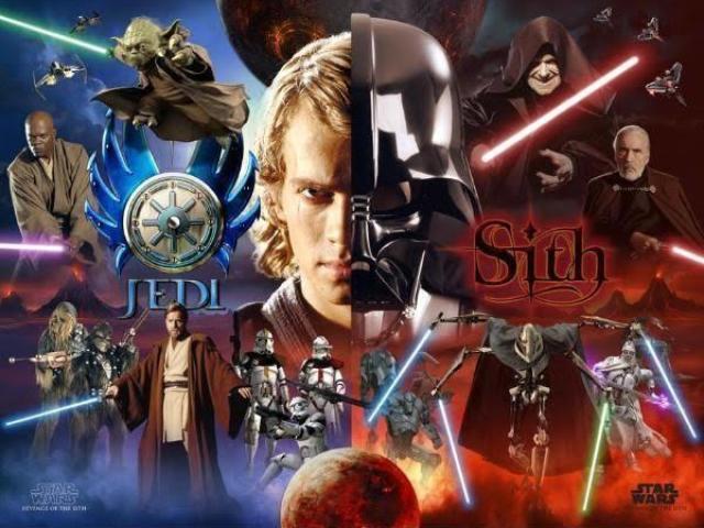 Você seria um Jedi ou um Sith?