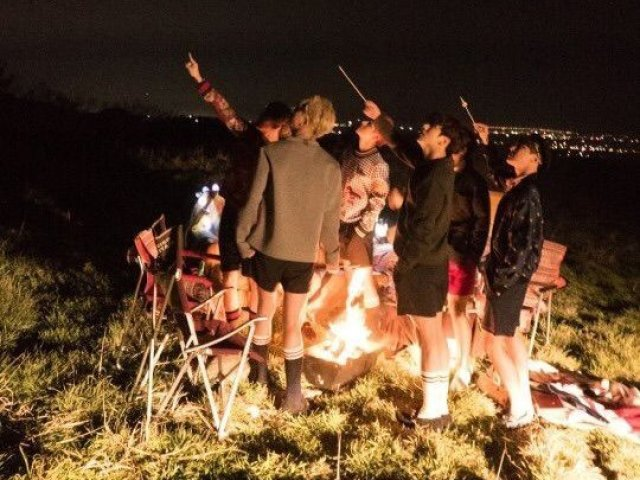 BTS RPG: O acampamento