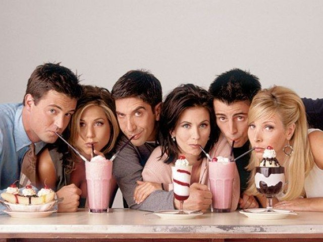 Você conhece a série Friends?