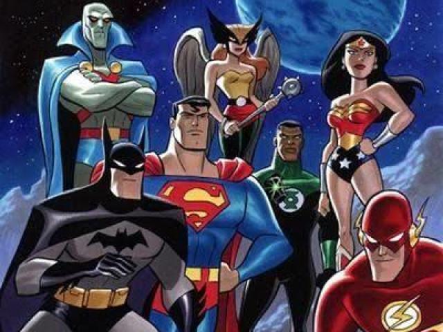 Quem você seria da Série Animada da Liga da Justiça?