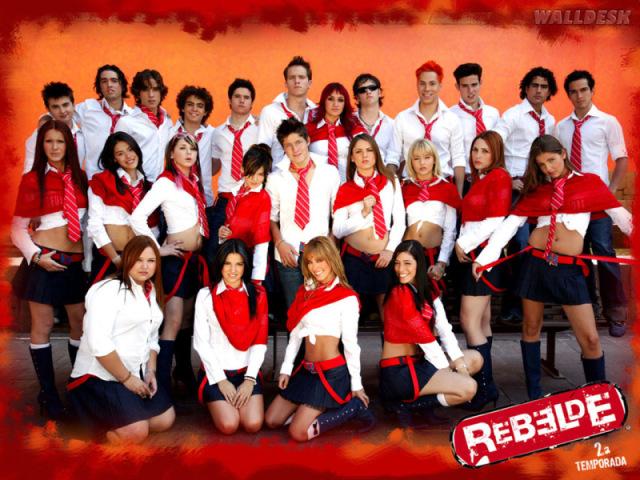 Que personagem você seria em Rebelde?
