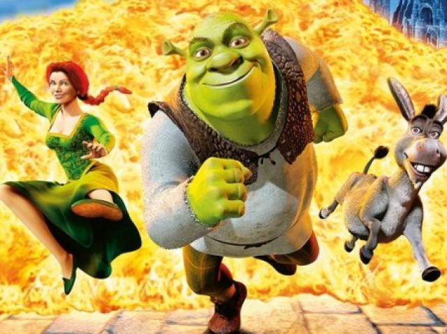 De qual dos filmes do Shrek é a cena?