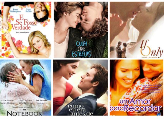 Com qual casal de filmes de romance você e seu parceiro se parecem?