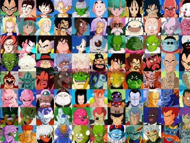 Você conhece todos em Dragon Ball?