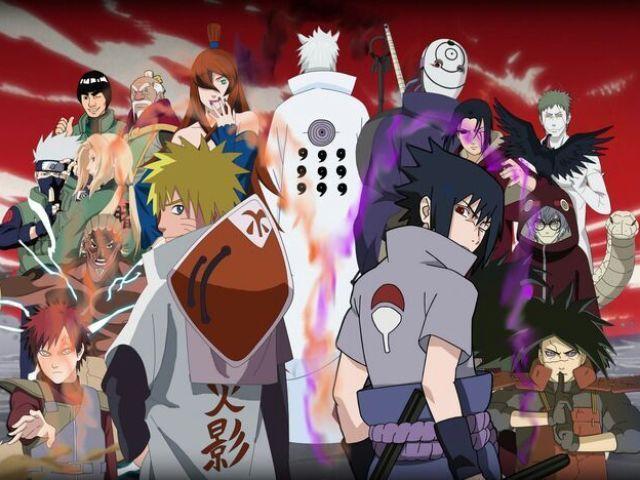 Naruto: Qual é o personagem?