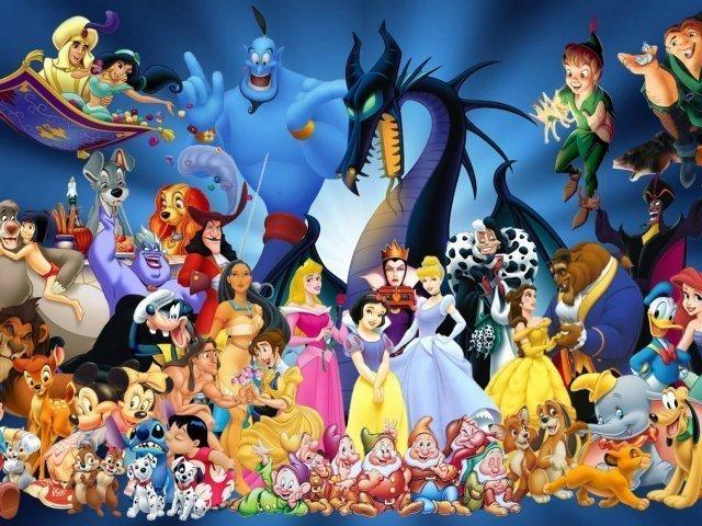 Você conhece os personagens da Disney? ♡☆