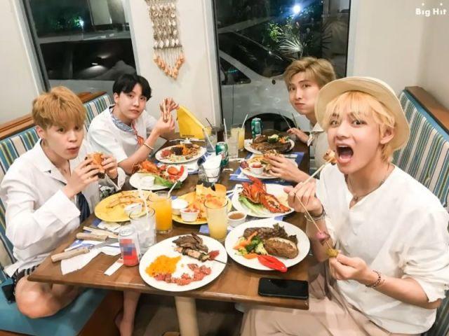 Escolhas as suas refeições e descubra qual membro do BTS te chamaria para sair!