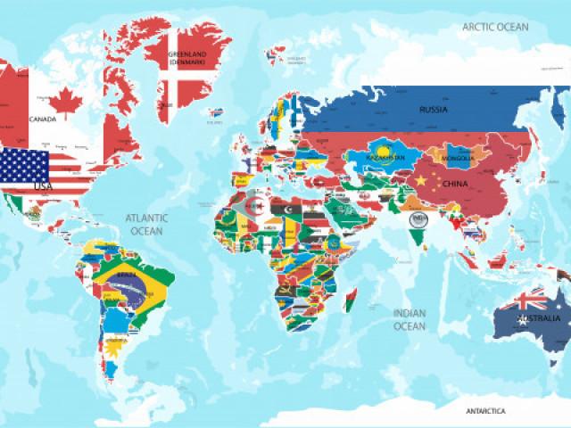 Você sabe a bandeira desses países? (Nível Médio)