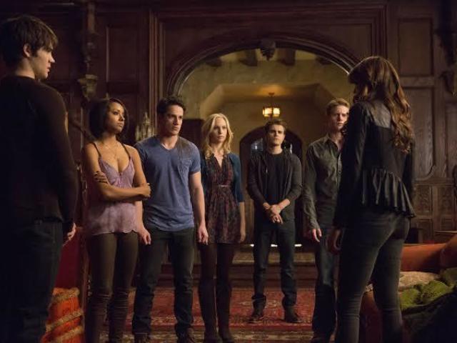 O que você seria em The Vampire Diaries?