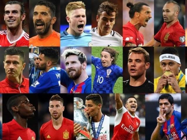 Qual jogador de futebol você seria?