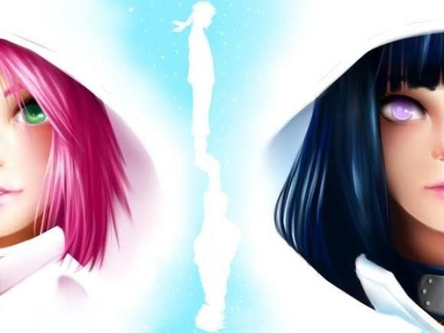 Naruto: Você é mais Hinata ou Sakura?