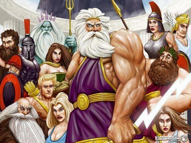 De qual deus grego você seria filho (a)?