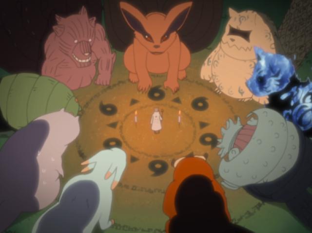 De qual Bijuu você seria Jinchuuriki?