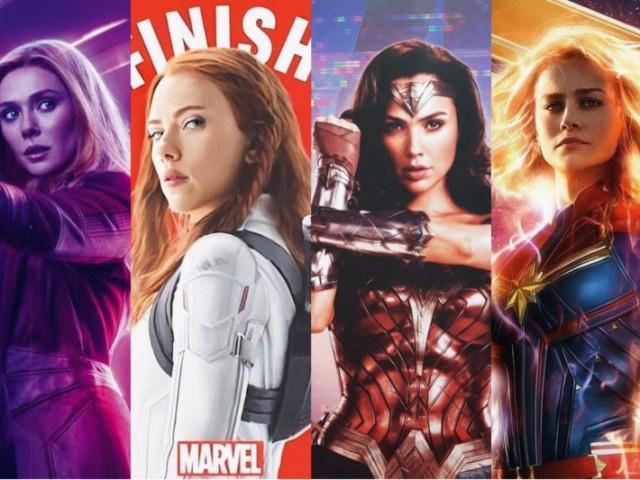 Qual dessas super heroínas você seria?