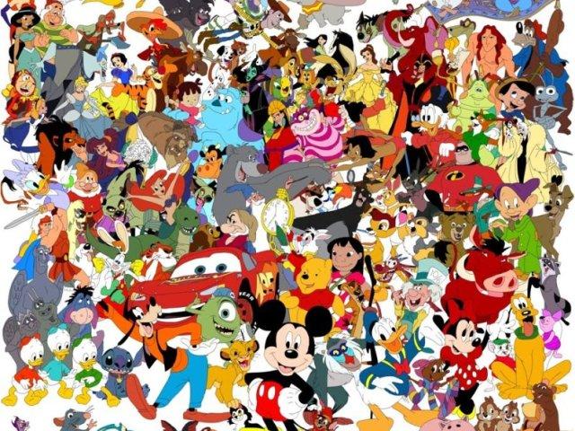 Acerte o nome dos personagens da Disney!