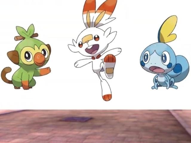 Qual Pokémon inicial de Galar Você seria? (8th GEN)