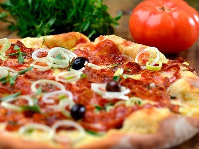 Você conhece a pizza