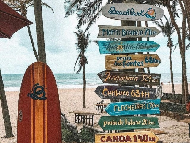 Crie seu final de semana na praia