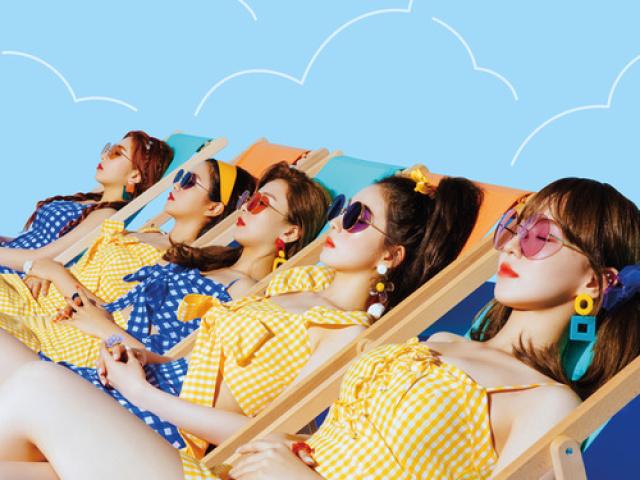 Monte a sua festa na piscina e descubra quem do Red Velvet iria!