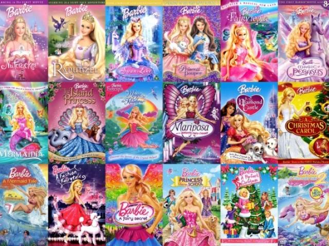Classifique estes filmes da Barbie e adivinharemos seu signo!