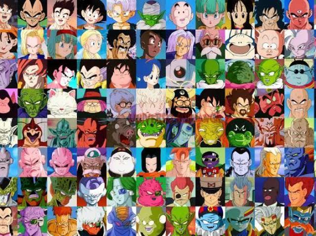 Você conhece os personagens de Dragon Ball?