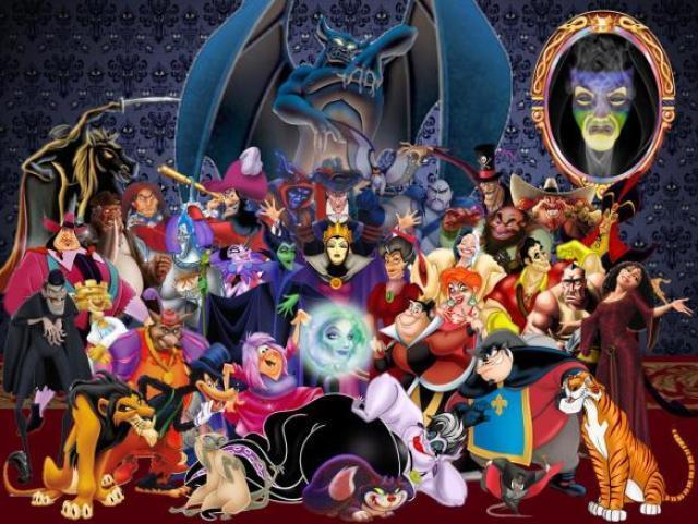 Você reconhece o filme da Disney pelo vilão?