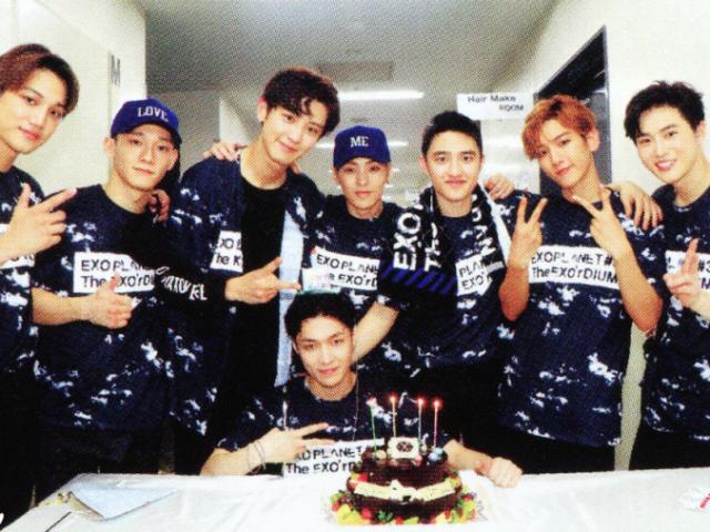 Monte a sua festa de aniversário e descubra qual membro do EXO iria.