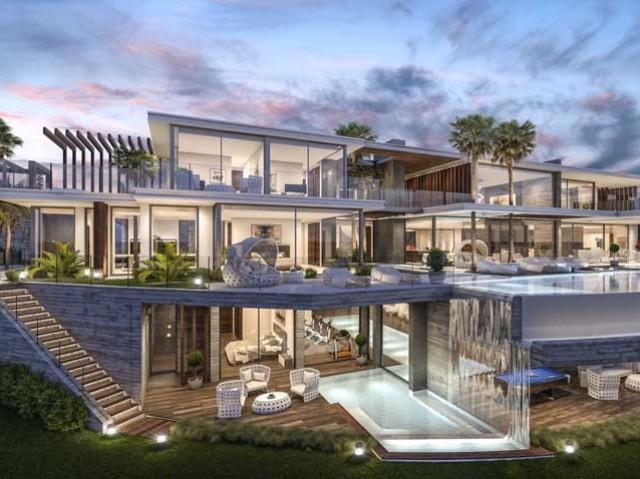 Monte sua mansão luxuosa