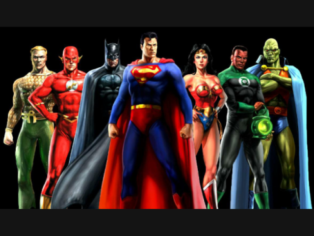 Qual desses personagens da Liga da Justiça parece mais você?