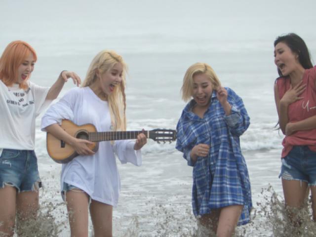 Monte o seu dia perfeito na praia e descubra qual membro do Mamamoo iria com você!