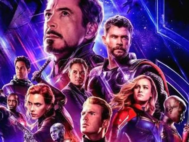 Você sabe o nome dos atores dos Vingadores?
