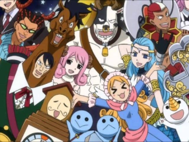 Quem você seria dos espíritos celestiais de Fairy Tail?