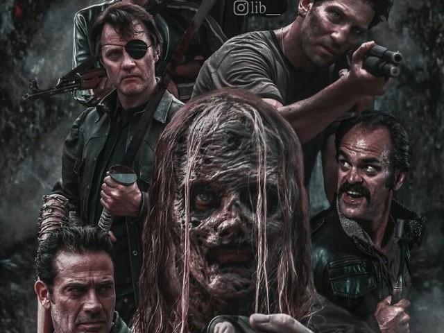 Quem você seria em The Walking Dead? Part.1