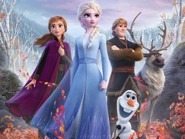 Você assistiu Frozen 2?