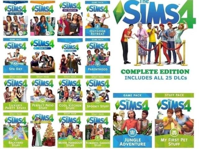 Qual pacote do The sims 4 você seria?