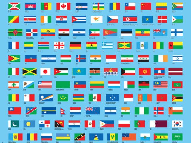 Essa bandeira é de qual país?