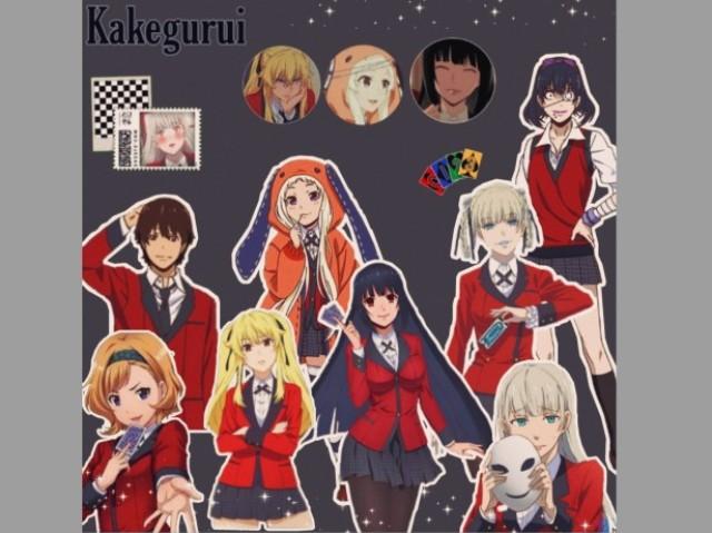 Com quem você se parece em Kakegurui?