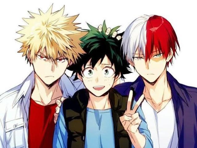 💖 Quem mais se parece com você: Midoriya, Todoroki ou Bakugou? 💖