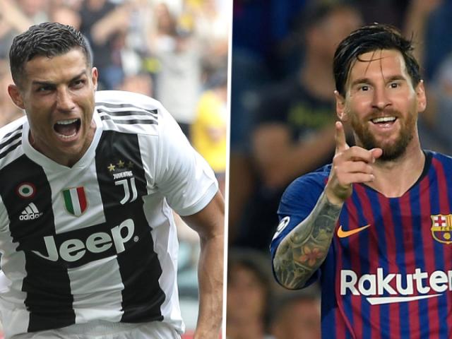 Você seria Cristiano Ronaldo ou Messi?