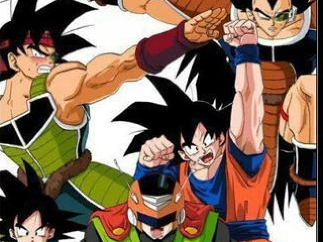 Quem você seria da família de Goku?