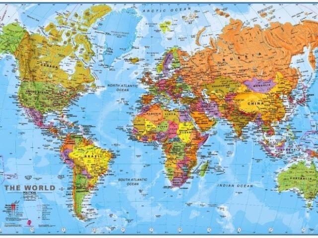 Os continentes- 8° Ano