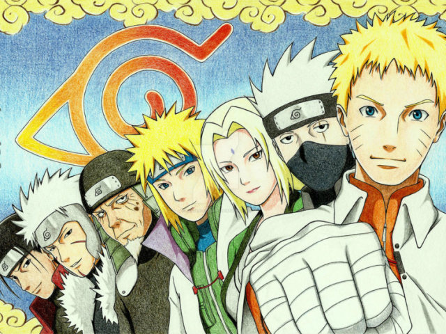 Hokages - Do fraco ao mais forte!